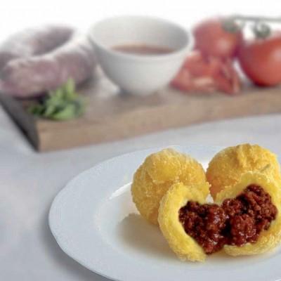gemme-di-polenta-con-ragu-di-salsiccia